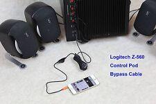Logitech Z560 Wired Remote-Kabel mit Lautstärkeregelung Computer Lautsprecher