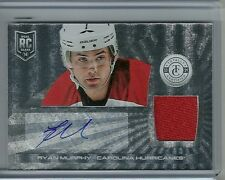 2013-14 Totally Certified Hockey Ryan Murphy Autographed Jersey Rookie Card