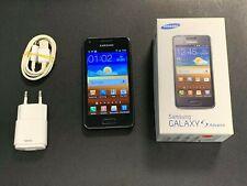 Samsung  Galaxy S Advance  8GB - Schwarz 3G HSPA Guter Zustand Sammlung