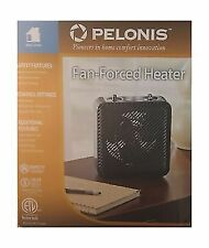 Pelonis Portable Electric Fan Heater Black #HF-1008B