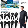 Mens Wetsuit Long Sleeve Full Body Super Stretch Surfing Diving Swimming Suit