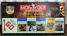 PIRATES OF THE CARIBBEAN MONOPOLY Trilogy Edition Board Game Disney Toy 2007 NEW
