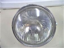 '81 CX500 CX 500 D DELUXE HEADLIGHT HEAD LIGHT CHROME BEZEL BUCKET GLASS HONDA