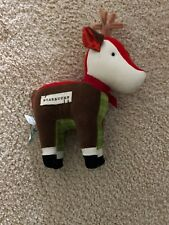 Starbucks Coffee Christmas Holiday Reindeer Plush 2008 Stuffed Animal Toy