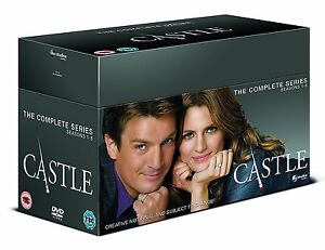 """CASTLE COMPLETE SERIES COLLECTION 1-8 DVD BOX SET 45 DISCS R4 """"NEW&SEALED"""""""
