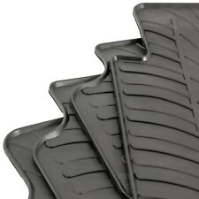 Gledring Tailored Rubber Floor Mats to fit VW Golf Mk7 13-19 Black Moulded Set
