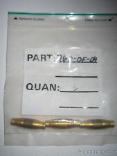 """Lot of (3) Used Imperial Brass Omega-Flo™ 1/4"""" Tube Push-In Unions, 262OF04"""