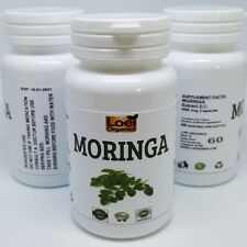 LARGE Moringa Oleifera Extract Capsules Anti Ageing Natural Vitamin 100% Pure
