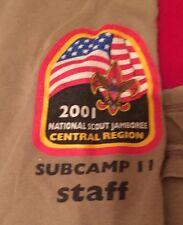 2001 National jamboree Staff  Subcompact 11 Adult Large Shirt