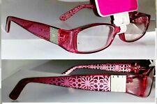 Magnivision Foster Grant Purple Pink Premium Reading Glasses +1.25 or +1.50 Posh