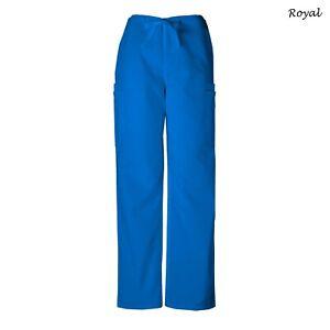 Cherokee Scrubs ORIGINALS Men's Drawstring Cargo Pants 4000 Regular/Petite