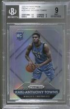 2015-16 Panini Prizm Rookies Silver Karl-Anthony Towns #328 BGS 9 Rookie