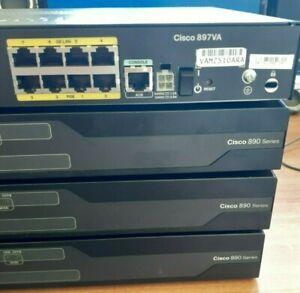 CISCO C897VA-K9 with: VDSL/ADSL-over-POTS, 1x GE WAN, 1xISDN, 1x SFP, 8x 1G LAN