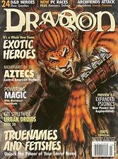 D&D d20 3rd Edition Dungeons & Dragon Magazine #317 Forgotten Realms Mint SW!