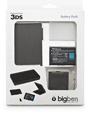 Batterie rechargeable 3.7 V  Noir  1300mAh pour Nintendo 3DS