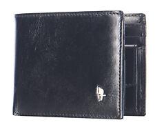 Herren Leder Geldbörse Portemonnaie Murano von Puccini 12x9,5cm MU1694 schwarz