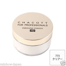 CHACOTT FOR PROFESSIONALS Enrichng Powder HD 773 Clear 30g Make up JAPAN