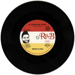 """ERNIE K-DOE  """"A CERTAIN GIRL""""    60's R&B MOVER"""