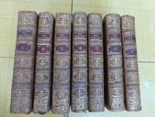 VERTOT HISTOIRE des CHEVALIERS HOSPITALIERS de St JEAN de JERUSALEM. 7/7 T. 1772