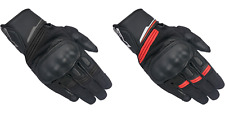 Alpinestars Booster Leather Motorcycle Motorbike Touring Gloves| All Sizes