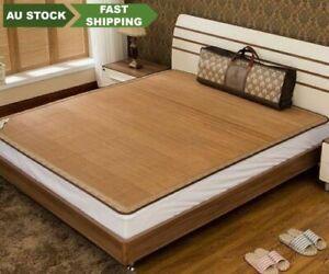 Premium Bamboo mat Best Quality AAAAA both side PLUS 2 pillow cases双面高档碳化竹凉席加2枕席