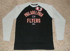 NWT CCM PHILADELPHIA FLYERS NHL LONG SLEEE SHIRT XLARGE BRAND NEW XL EXTRA LARGE