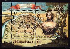 SERBIA Y MONTENEGRO 2003 ARTE SERBIA PHILA HB 37 2v