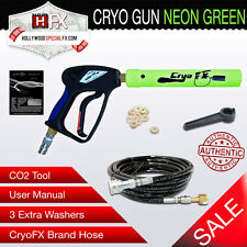 Cryo Gun - NEON Green - Handheld CO2 Jet Cannon Special Effects- NG10