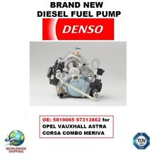 DIESEL FUEL PUMP OE: 5819065 97313862 for OPEL VAUXHALL ASTRA CORSA COMBO MERIVA