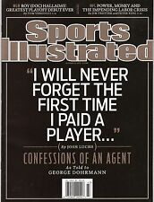 2010 Sports Illustrated Si CONFESSIONS OF AN AGENT newsstand copy