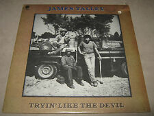 JAMES TALLEY Tryin' Like the Devil ORIGINAL FACTORY SEALED LP 1976 ST-11494 Cut