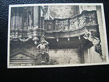 FRANCE  - carte postale la chaise-dieu (detail du buffet d orgues) (cy22) french