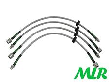 FORD FOCUS ST 2.5 TURBO MK2 STAINLESS STEEL BRAIDED BRAKE LINES HOSES PIPES UD