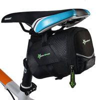 RockBros Cycling Bicycle Rear Seat Bag Pannier Bike Saddle Pouch Tail Storage