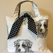 Australian Shepherd Dog Print Bag
