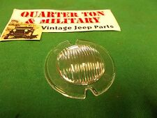 Jeep Willys CJ2A CJ3A Wagon Truck Parking light lens US Made