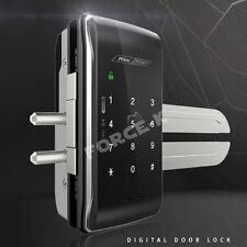 Keyless Lock for Glass Door MI-250S Digital Doorlock Entry Passcode + 4 RF Cards