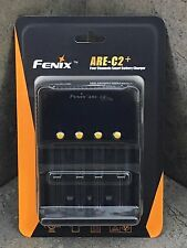Fenix 4 Channel Smart Charger ARE-C2+ Charges 18650, AA, AAA, C, 16340