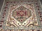 VINTAGE TURKISH 5' X 5' BEAUTIFUL ESTATE RUG NICE CENTER MEDALLION CHECK IT OUT!