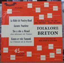 AVEL-2-BENN FOLKLORE BRETON FRENCH EP FESTIVAL