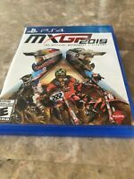 MXGP 2019 The Official Motocross Video Game PS4 PlayStation. Fast Free Shipping.