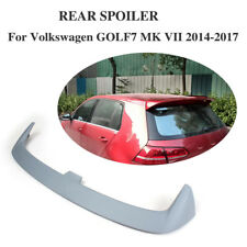 Rear Roof Spoiler Lip Wing Fit for Volkswagon VW Golf VII 7 MK7 14-17 Unpainted