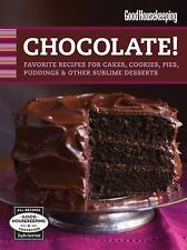 Good Housekeeping Chocolate!: Favorite Recipes for Cakes, Cookies,-ExLibrary