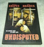 Undisputed (DVD Wesley Snipes, Ving Rhames Master P *RARE
