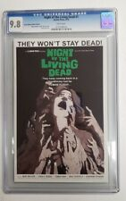 Night of the Living Dead #1 Black White Variant CGC 9.8 Comic Book Mike Wolfer