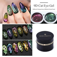 BORN PRETTY 5ml 9D Cat Eye Magnetic Soak Off UV Gel Polish Nail Art Gel Varnish