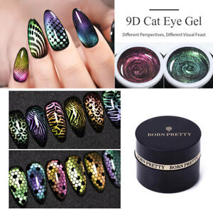 BORN PRETTY 5ml 9D Cat Eye Magnetic Soak Off UV Gel Polish Nail Art Gel Varnish