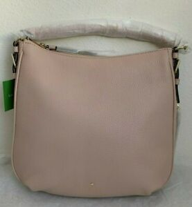 NWT Kate Spade Cobble Hill Small Ella Leather Satchel Bag PXRU5514 Pressed Powde