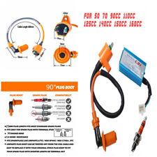 5 Pin Male Plug CDI Box Spark Plug Triple Electrode Head for 50-160cc Dirt Bikes