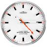 Modern Wall Clock - CHERMOND - metal case , white dial